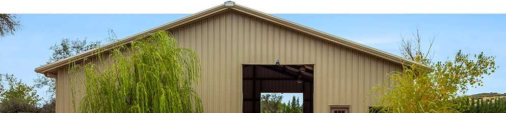 Banner - Building Solutions - Steel Barns and Ag Storage - Horse Stables and Arenas