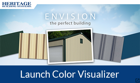 Steel Building Color Visualizer Metal Building Color