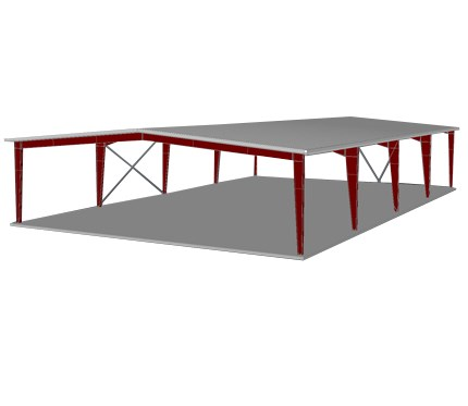 60x100x16 Roof only (003)