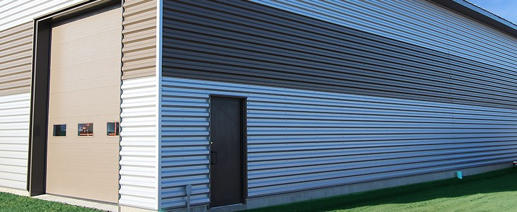 Pillowed Metal Building Wall Panel : Pbu structural exposed fastener metal wall panel heritage