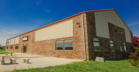 Metal Buildings With Brick Exterior Steel Building With