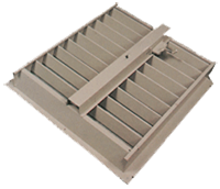 Louvers for Steel Buildings