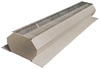 Ridge Vents for Steel Buildings