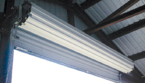 Roll-up Doors for Steel Buildings
